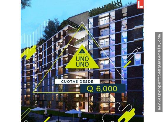Vendo apartamentos Zona 11 Mariscal