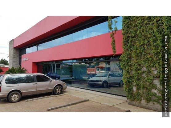 Edificio en renta zona 14 dentro de complejo