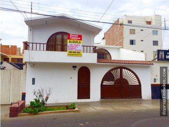 [EN ALQUILER] Casa en Huanchaco