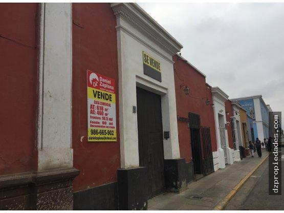 [EN VENTA] Casona en Jr. San Martín, Trujillo