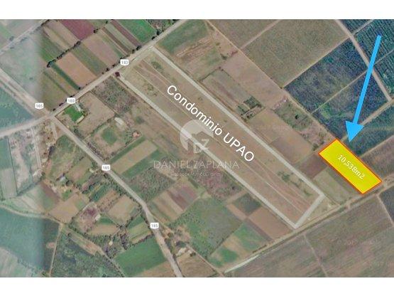 [EN VENTA] Terreno de 1.05 has en Laredo