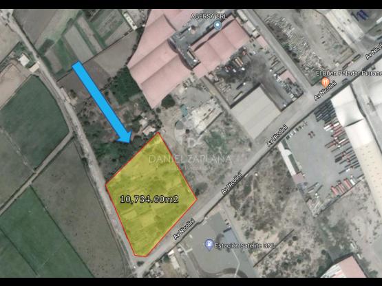 [EN VENTA] Terreno en Parque Industrial Moche