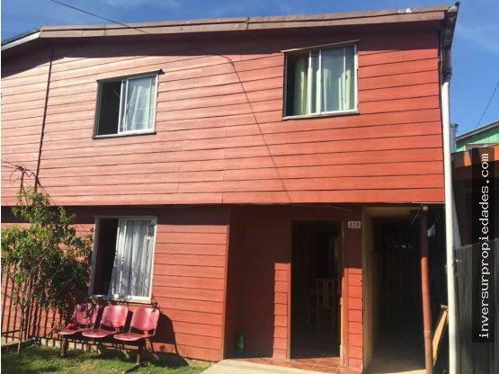 Se Vende Casa 2 pisos en Luis Damman – Valdivia