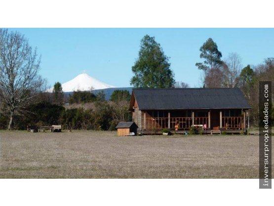 Hermosa casa Amoblada vista a volcán Villarrica