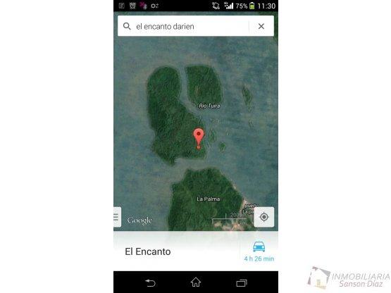 Se vende Isla el Encanto en Darien