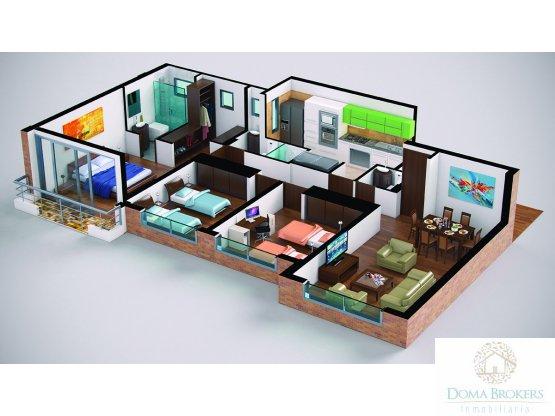 Proyecto Apartamento tipo 2 Mayacoba