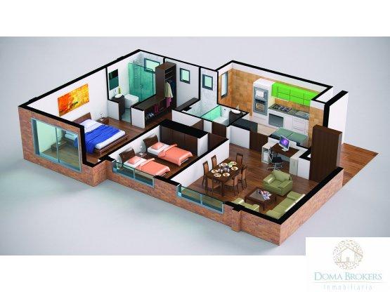 Apartamento Club House Cota Sabana