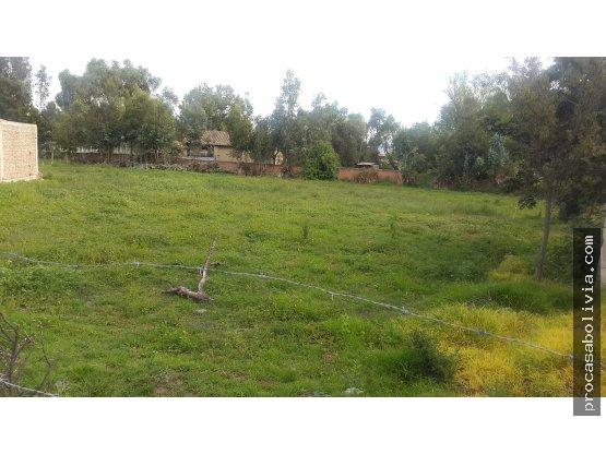 Colegio Tiquipaya inmediaciones hermoso terreno