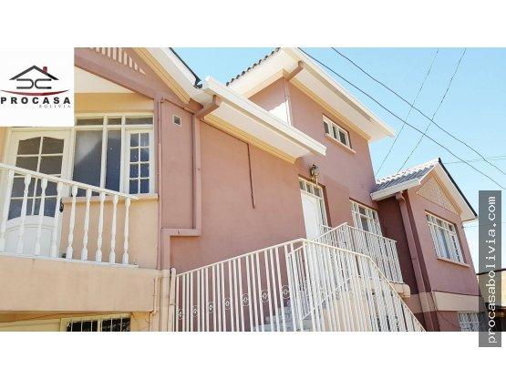 Juan de la Rosa y América casa en venta