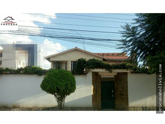 Hermosa casa en esquina zona Demetrio Canelas