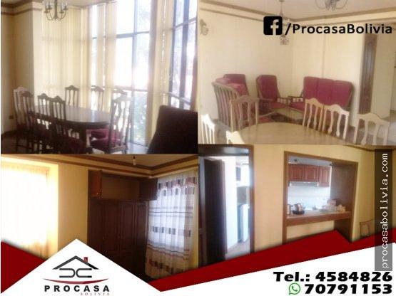 Departamento Av. Villarroel-Aniceto Padilla