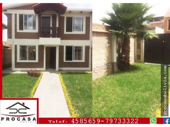 Casa Nueva en Venta Capitan Ustariz km 7