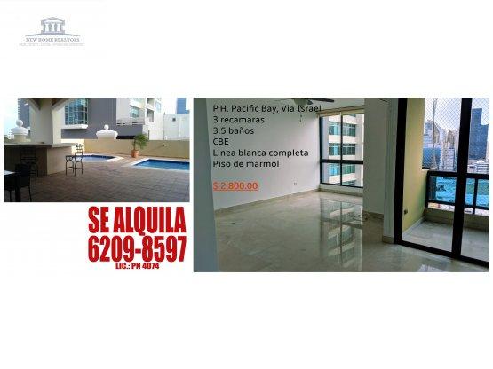 Alquilo Apartamento en Pacific Bay / 954528 /FHC