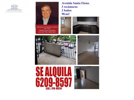 ALQUILO, APTO AVE. SANTA ELENA / 952264 / FHC