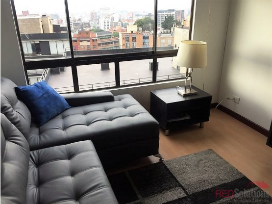 Apartamento amoblado en Chapinero Alto
