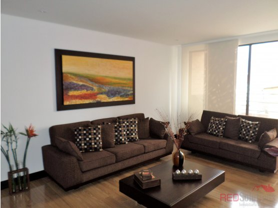 Apartamento amoblado en Santa Bárbara Occidental