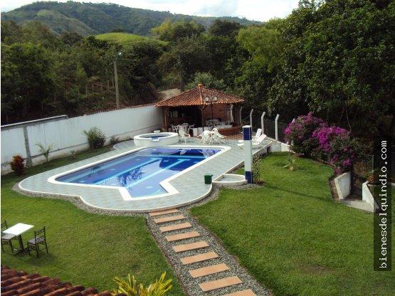 Casa campestre Vía Tebaida