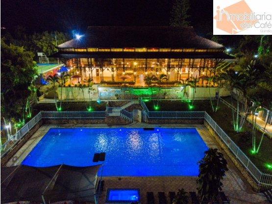 VENTA FINCA HOTEL VIA A LA TEBAIDA