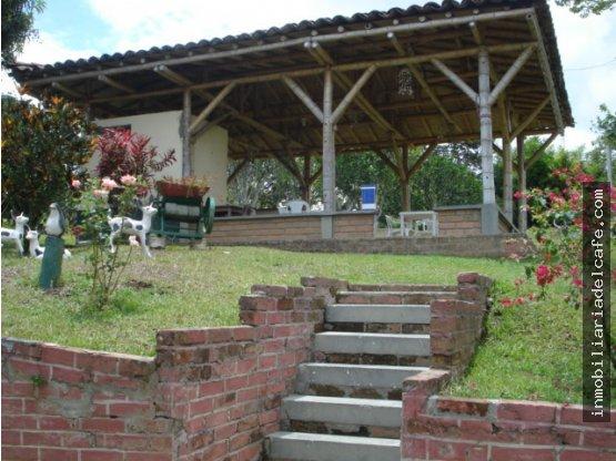 VENTA FINCA HOTEL EN QUIMBAYA