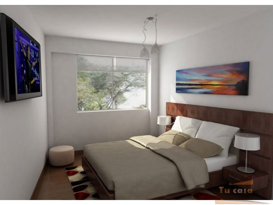 Apartamento tipo 2 dos habitaciones,140.000.000