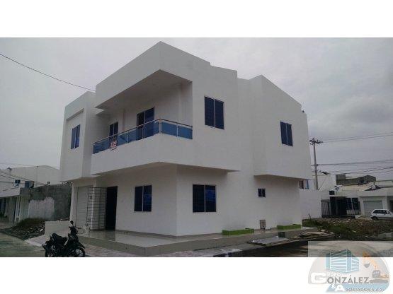 vendo casa nueva de 2 pisos para estrenar Monteria