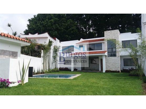 Estrene Casa al norte de Cuernavaca