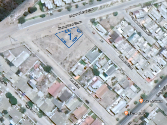 SE VENDE TERRENO SIMDEMPART 334M2