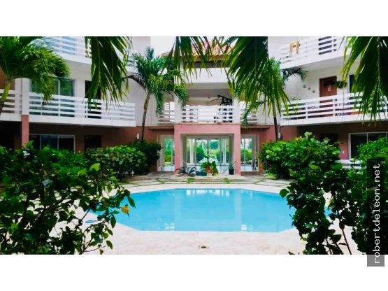 Apartamento de 100 Mts2 en Bávaro; piscina