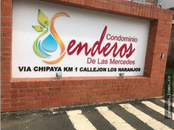 VENTA LOTE EN SENDEROS DE LAS MERCEDES DE JAMUNDI