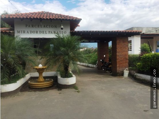 VENTA LOTE  MIRADOR DEL PARAISO-CERRITO-VALLE