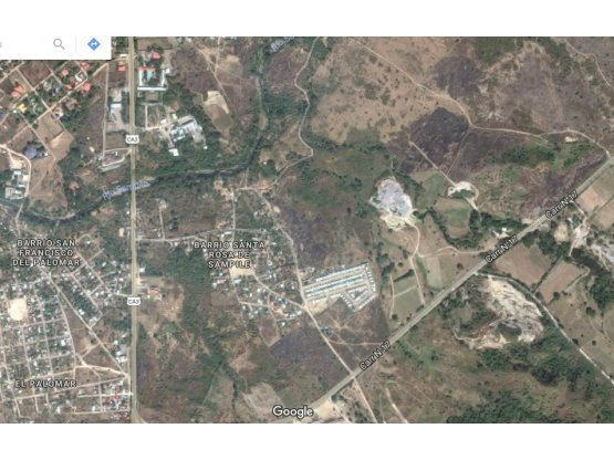 Se vende terreno en Santa Rosa de Sampille