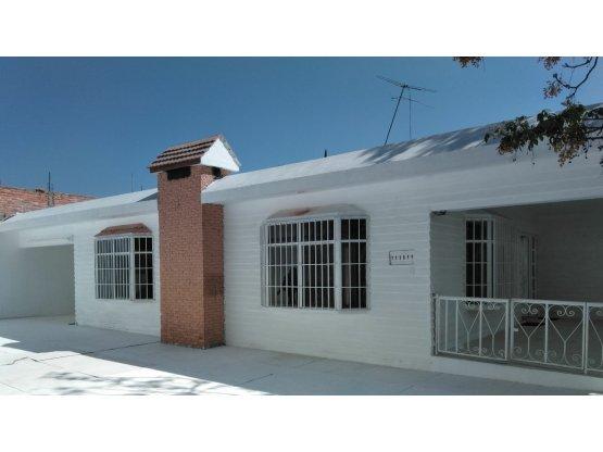 Renta Casa Vista Alegre, Aguascalientes, Ags.