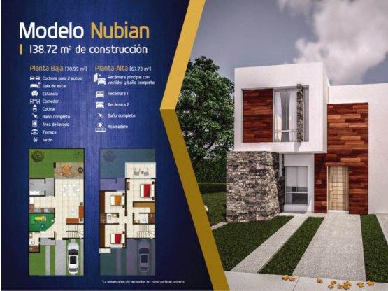 Venta Casa Canteras,Modelo NUBIAN Aguascalientes