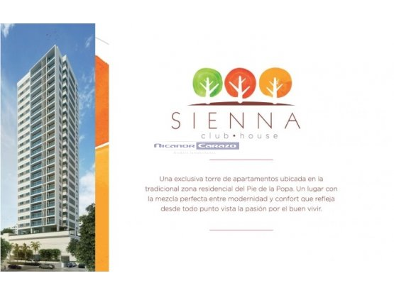 Edificio Sienna club house - Pie de la Popa - CTG