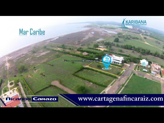 Venta de lote en condominio Palma Real - Cartagena