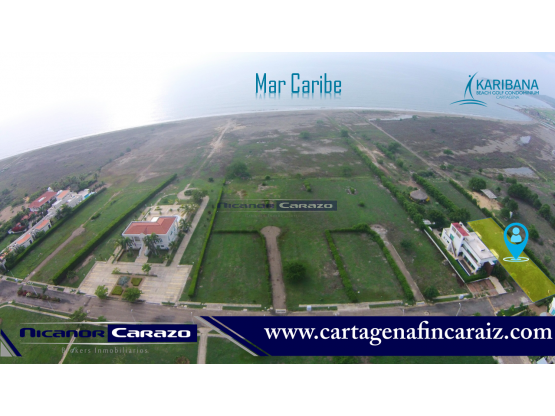 Lote en Condominio con Playa - Cartagena de Indias