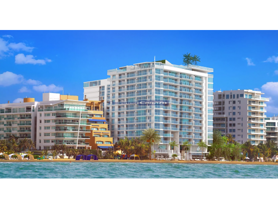 Venta apartamento 2 alcobas en Spiaggia Cartagena