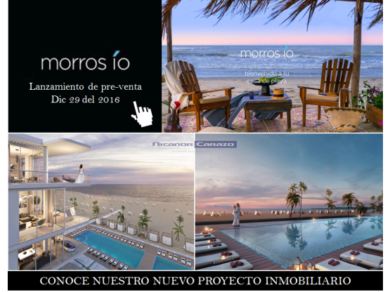 Condominio Morros io - Manzanillo del Mar - CTG