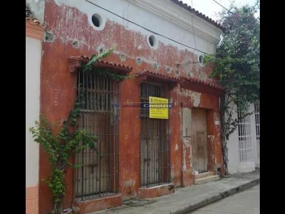 Venta de casa en el Centro Histórico de Cartagena