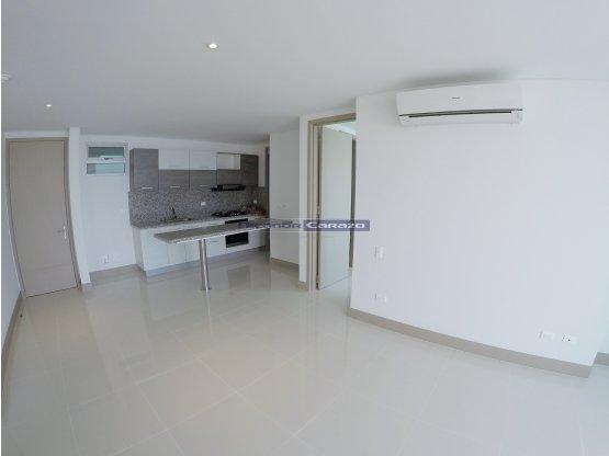 VTA apartamento en Bocagrande vista al Mar. 2 Alc