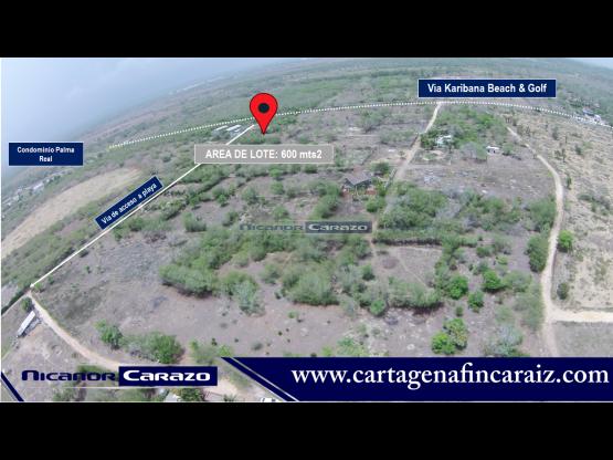 Vendemos lote en Manzanillo del Mar en Cartagena