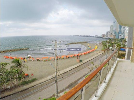 Apartamento remodelado frente al Mar en Bocagrande