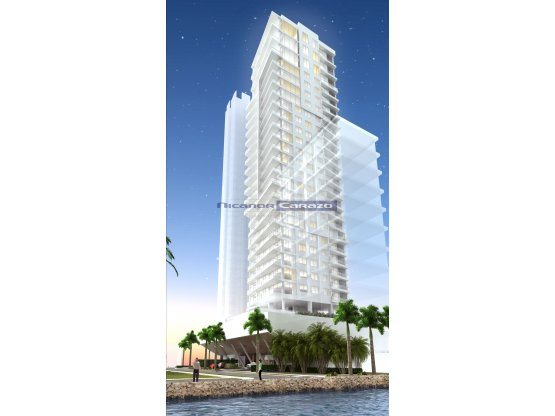 Proyecto edificio Icon Bay - Castillogrande - CTG