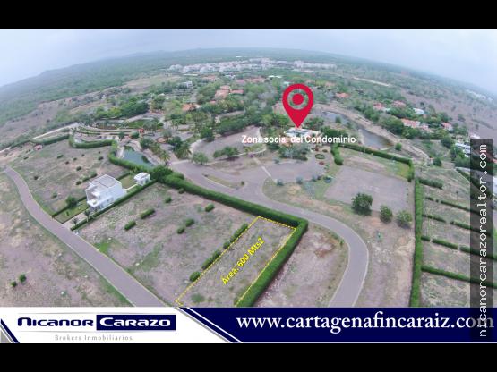 Venta de Lote en Condominio Terranova - Cartagena