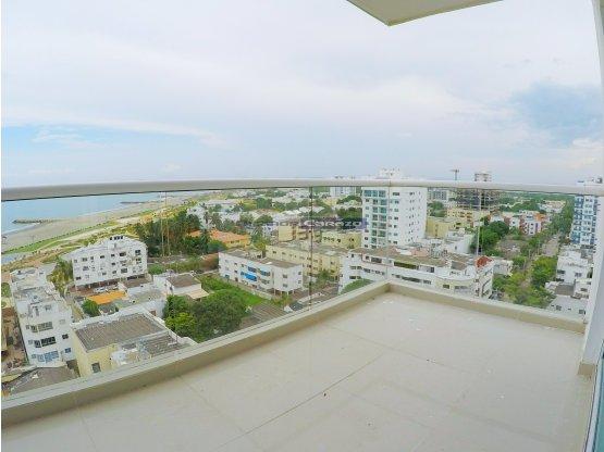 Vendemos apartamento de 3 alcobas en Crespo - CTG