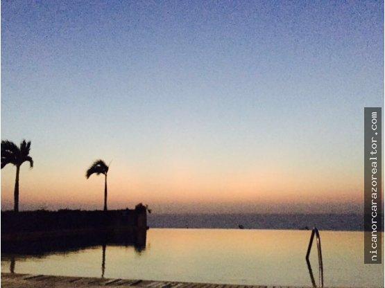 Venta de apartamento frente al mar - La Boquilla.