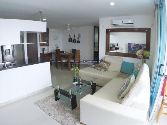 Vendemos apartamento de 2 alcobas en Crespo - CTG