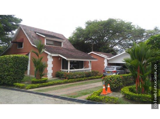 Hermosa Casa Campestre exclusivo Condominio Pance