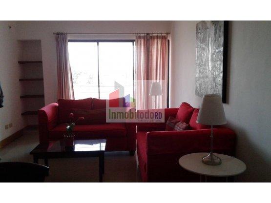 Apartamento amueblado de 1 habitación en Gazcue