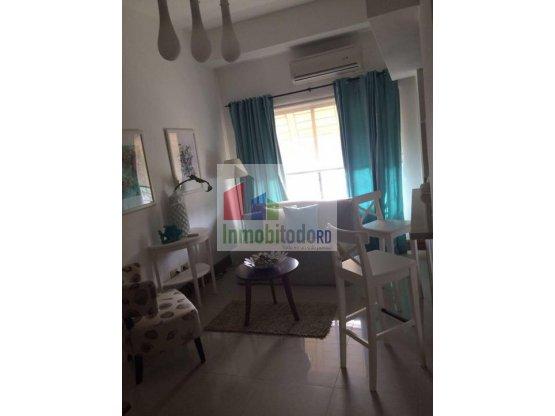 Apartamento Amueblado en Gazcue